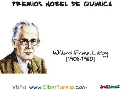 Willard Frank Libby[1908-1980]-Premios Nobel de Quimica