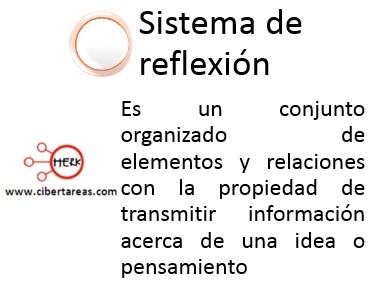 sistemas de reflexion