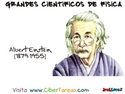 Albert Einstein - Grandes Cientificos de Fisica