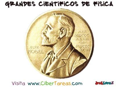 Alfredo Bernard Nobel - Grandes Cientificos de Fisica