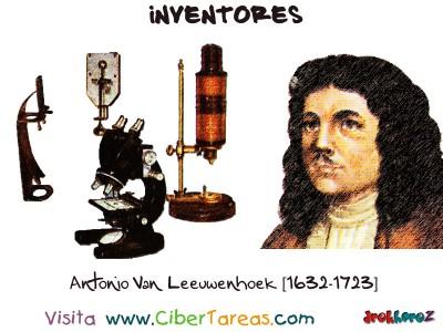 Antonio Van Leeuwenhoek-1632-1723-Inventores