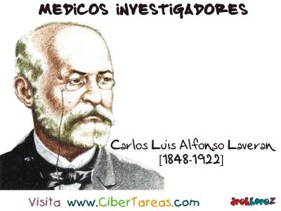 Carlos Luis Alfonso Laveran-Medicos Investigadores