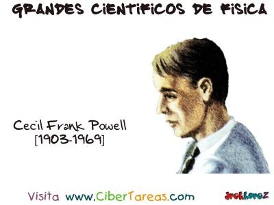 Cecil Frank Powell - Grandes Cientificos de Fisica