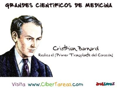 Chriristian Barnard [primer transplante de corazon] -  Grandes Cientificos de Medicina