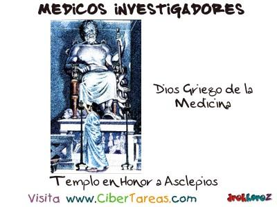 Dios Griego de la Medicina-Medicos Investigadores