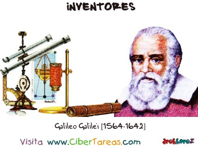 Galileo Galilei-1564-1642-Inventores