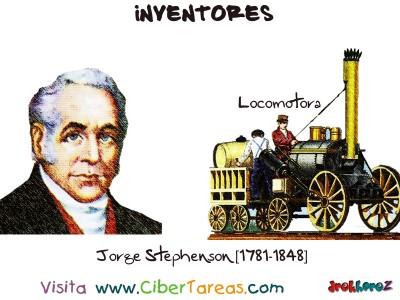 Jorge Stephenson-1781-1848-Inventores