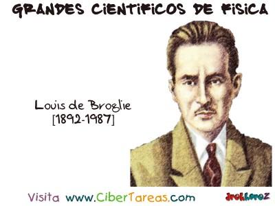 Louis de Broglie - Grandes Cientificos de Fisica
