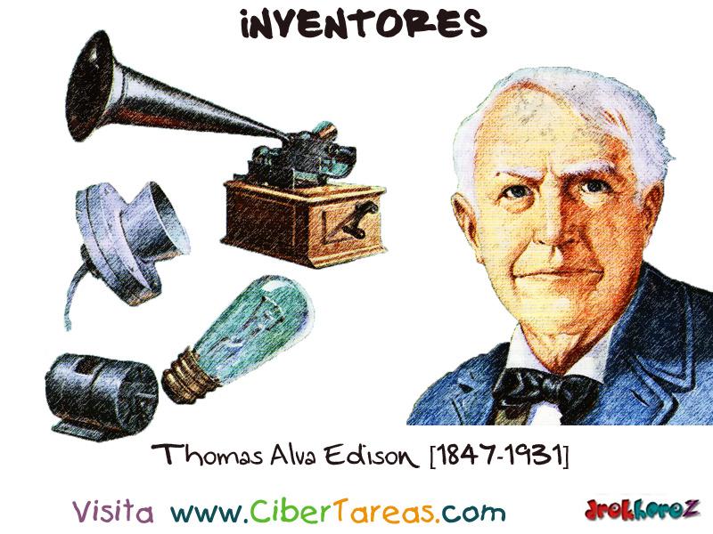 invenciones thomas edison