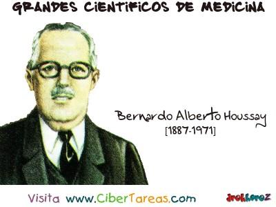 Bernardo Alberto Houssay - Grandes Cientificos de la Medicina