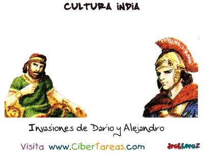 Invasiones de Dario y Alejandro - Cultura India