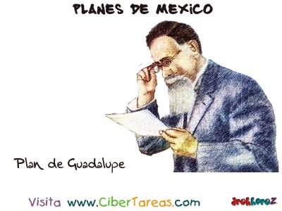 Plan de Guadalupe - Planes de Mexico