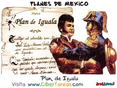 Plan de Iguala - Planes de Mexico