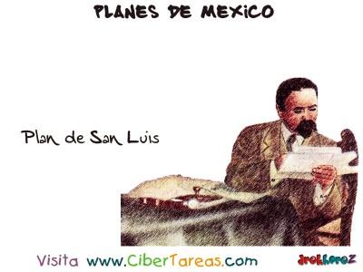 Plan de San Luis - Planes de Mexico