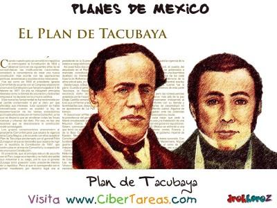 Plan de Tacubaya Planes de Mexico
