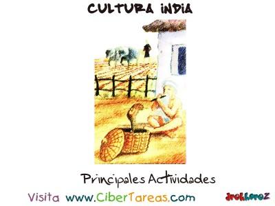 Principales Actividades - Cultura India