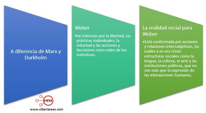 realidad social segun weber
