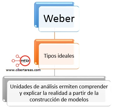 tipos ideales de weber