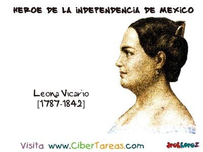 Leona Vicario - Heroe de la Independencia de Mexico