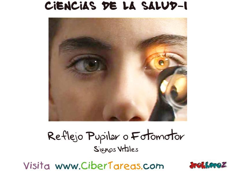 El Reflejo Pupilar o Fotomotor_Signos Vitales – Ciencias de la Salud ...