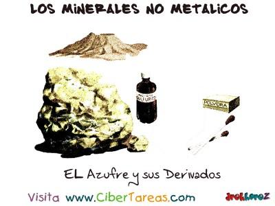 EL Azufre y sus Derivados - Los Minerales NO Metalicos
