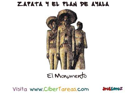 El Modumento - Zapata y el Plan de Ayala