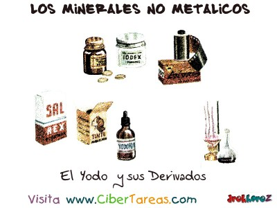 El Yodo y sus Derivados - Los Minerales NO Metalicos