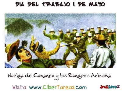 Huelga de Cananea y los Rangers de Arizona - Dia del Trabajo 1 de Mayo