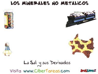 La Sal y sus Derivados - Los Minerales NO Metalicos