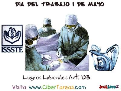 Logros Laborales Art. 123 - Dia del Trabajo 1 de Mayo