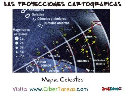 Mapas Celestes - Proyecciones Cartograficas