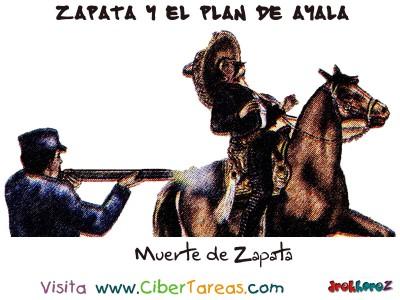 Muerte de Emliano Zapata - Zapata y el Plan de Ayala
