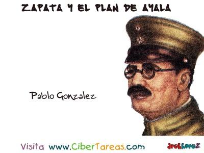 Pablo Gonzalez - Zapata y el Plan de Ayala