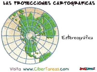Proyeccion Polar Estereografica - Proyecciones Cartograficas