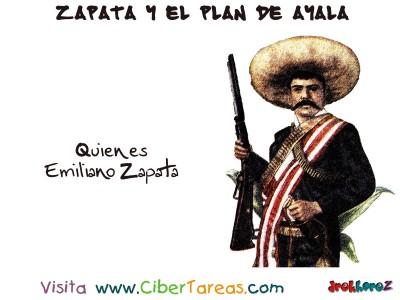 Quien es Emiliano Zapata y el Plan de Ayala