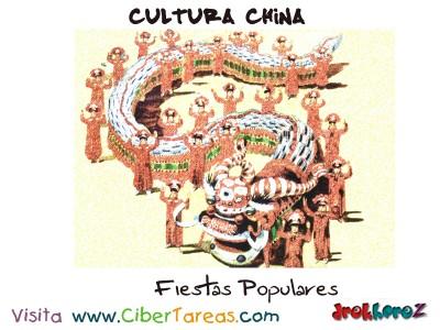 Fiestas Populares - Cultura China
