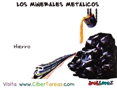 Hierro - Los Minerales Metalicos
