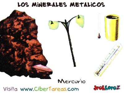 Mercurio - Los Minerales Metalicos