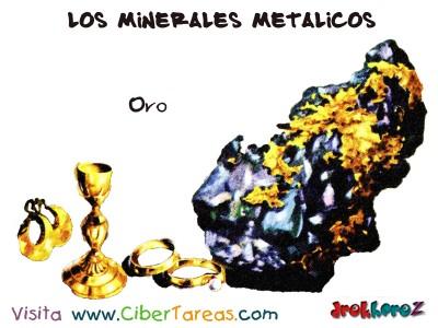 Oro - Los Minerales Metalicos