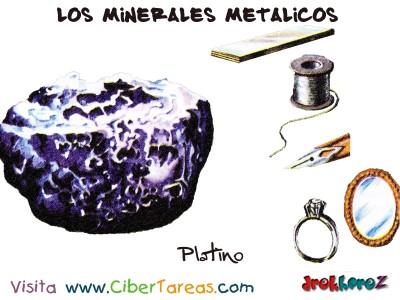 Platino - Los Minerales Metalicos