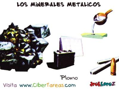 Plomo - Los Minerales Metalicos