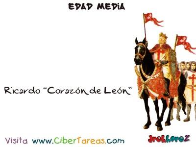 Ricardo Corazon de León - Edad Media