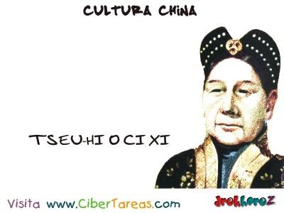 TSEU-HI o CI XI - Cultura China