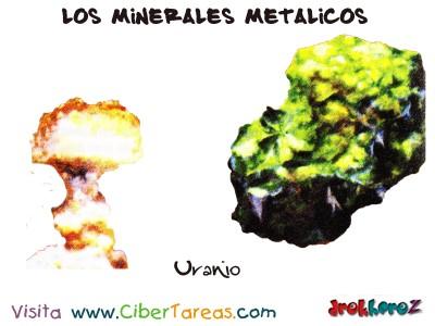 Uranio - Los Minerales Metalicos