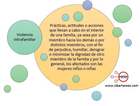 concepto de ciolencia intrafamiliar introduccion a las ciencias sociales