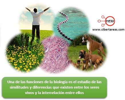 funciones de la biologia