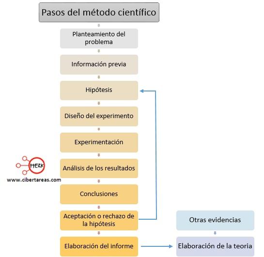 pasos del metodo cientifico
