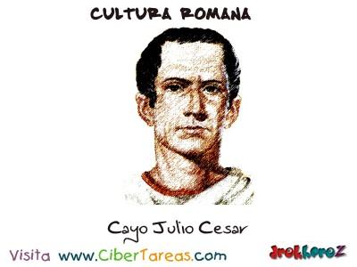 Cayo Julio Cesar - Cultura Romana