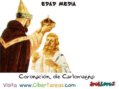 Coronacion de Carlomagno - Edad Media