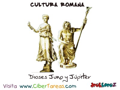 Dioses Juno y Jupiter - Cultura Romana
